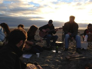 Music Jam at Ocean Beach