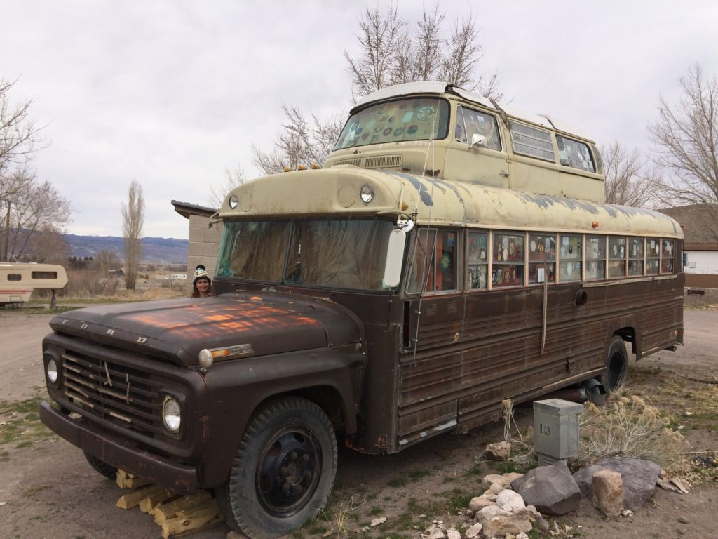 Grateful Dead Bus for overnight stay