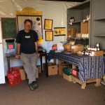Jim at the Community Food Collective in Point Arena